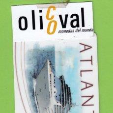 Postales: TARJETA HOTEL CRUCERO COSTA ATLANTICA DORSO INUTILIZADO AMACARD(GE) TH156. Lote 176082064