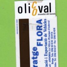 Postales: TARJETA HOTEL PYRENEES ANDORRA LA VELLA ANDORRA . P /I IDASA DUMON TH177. Lote 176213393