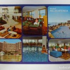 Postales: POSTAL. 18/6. HOTEL PALAS ATENEA. PASEO MARÍTIMO. PALMA DE MALLORCA. ICARIA. NO ESCRITA. . Lote 176263858