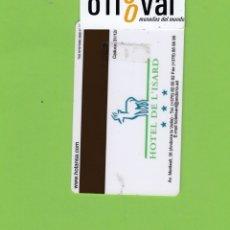 Postales: TARJETA HOTEL DE L´ISARD ANDORRA LA VELLA ANDORRA TAG SYSTENS 2002 I TH 204. Lote 176422617