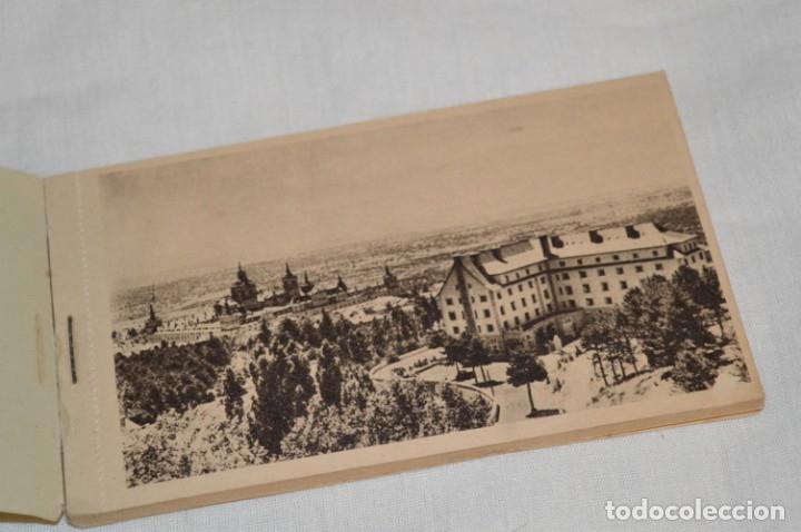 Postales: HUSA GRAN HOTEL FELIPE II - San Lorenzo de El Escorial - Bloc Completo 12 postales antiguas ¡Mira! - Foto 2 - 176596184