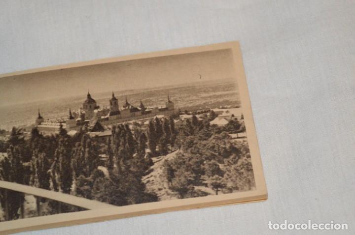 Postales: HUSA GRAN HOTEL FELIPE II - San Lorenzo de El Escorial - Bloc Completo 12 postales antiguas ¡Mira! - Foto 3 - 176596184