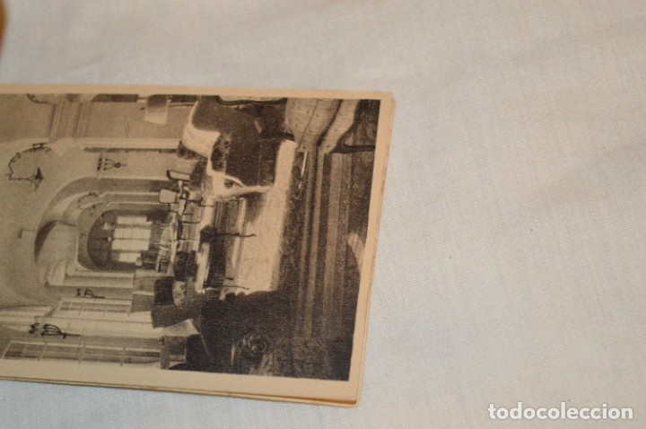 Postales: HUSA GRAN HOTEL FELIPE II - San Lorenzo de El Escorial - Bloc Completo 12 postales antiguas ¡Mira! - Foto 4 - 176596184