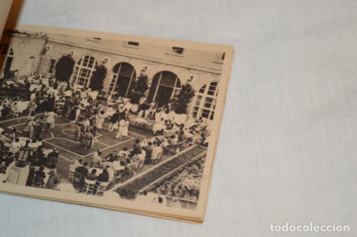 Postales: HUSA GRAN HOTEL FELIPE II - San Lorenzo de El Escorial - Bloc Completo 12 postales antiguas ¡Mira! - Foto 5 - 176596184