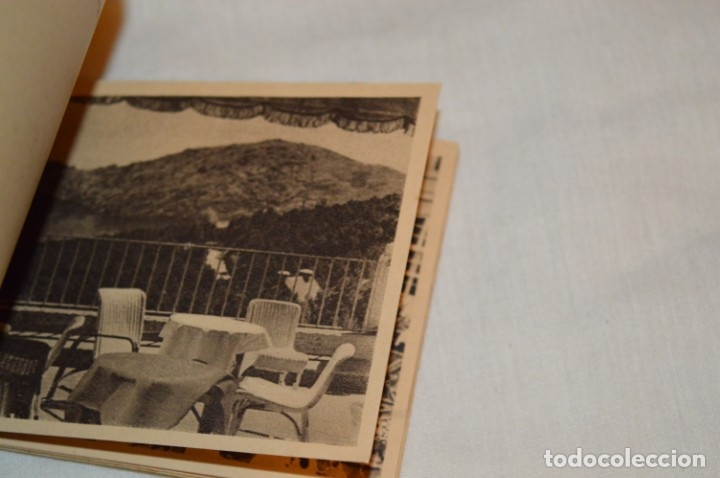 Postales: HUSA GRAN HOTEL FELIPE II - San Lorenzo de El Escorial - Bloc Completo 12 postales antiguas ¡Mira! - Foto 6 - 176596184