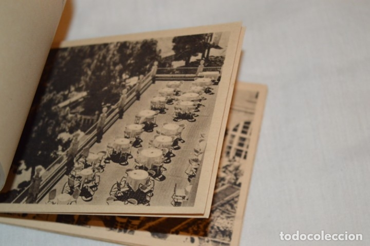 Postales: HUSA GRAN HOTEL FELIPE II - San Lorenzo de El Escorial - Bloc Completo 12 postales antiguas ¡Mira! - Foto 7 - 176596184