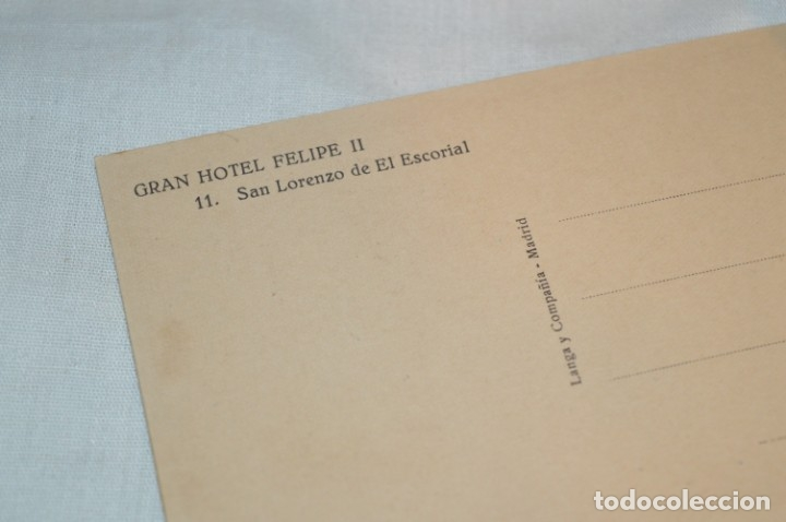 Postales: HUSA GRAN HOTEL FELIPE II - San Lorenzo de El Escorial - Bloc Completo 12 postales antiguas ¡Mira! - Foto 16 - 176596184