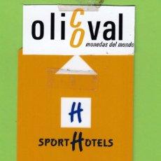 Postales: TARJETA HOTEL SPORT HOTELS SOLDEU ANDORRA COLOR TIRRA CLARO ONITY DUMON TH 218. Lote 176925608