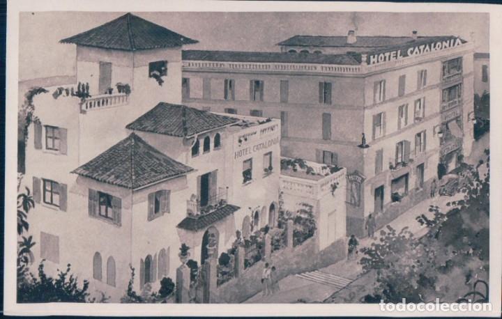 POSTAL HOTEL CATALONIA - EXTERIOR (Postales - Postales Temáticas - Hoteles y Balnearios)