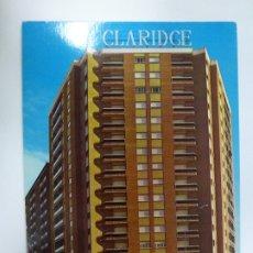 Postales: POSTAL. HOTEL R. CLARIDGE. MADRID. ED. IGOL. NO ESCRITA. . Lote 178197493