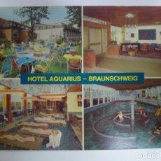 Postales: POSTAL. HOTEL AQUARIUS. BRAUNSCHWEIG. VERLAG OSTERMANN. NO ESCRITA.. Lote 178657275