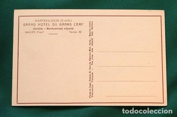 Postales: PRECIOSAS POSTALES FRANCESAS - HOTEL - - Foto 3 - 178685878