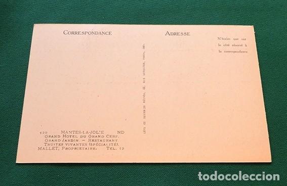 Postales: PRECIOSAS POSTALES FRANCESAS - HOTEL - - Foto 6 - 178685878