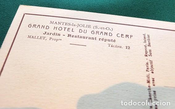 Postales: PRECIOSAS POSTALES FRANCESAS - HOTEL - - Foto 8 - 178685878