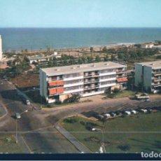 Postales: POSTAL TORREMOLINOS - HOTEL PEZ ESPADA Y EUROSOL - ESCUDO DE ORO 14 - DOMINGUEZ. Lote 178803450