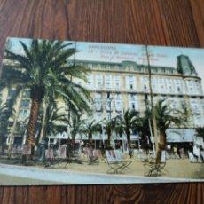 Postales: A1. 89. TARJETA POSTAL. BARCELONA. 32. PLAZA DE CATALUÑA. HOTEL COLON.. Lote 180263660