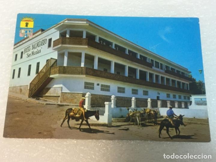 POSTAL ORIGINAL BALNEARIO SAN NICOLÁS CIRCULADA (Postales - Postales Temáticas - Hoteles y Balnearios)