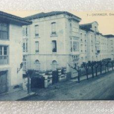 Postales: TARJETA POSTAL ORIGINAL ONTANEDA GRAN HOTEL. Lote 180610960