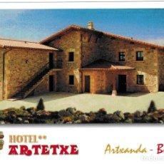 Postales: POSTAL HOTEL ARTETXE - BILBAO. Lote 182680913