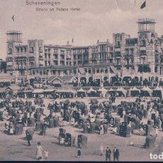 Postales: HOLANDA - SCHEVENINGEN STRAND PALACE HOTEL SCHEVENINGEN. Lote 182748416