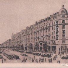 Postales: HOTEL AMBASSADOR - PARIS OPERA - BOULEVARD HAUSSMANN. Lote 182750430