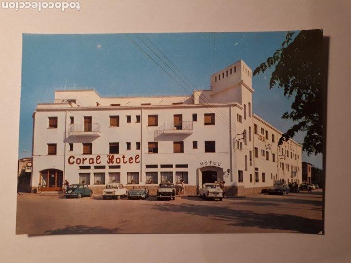 L'ESTARTIT. HOTEL CORAL. POSTAL 1966 (Postales - Postales Temáticas - Hoteles y Balnearios)