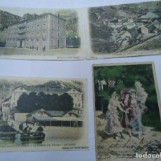 Postales: 3 POSTALES BALNEARIO PANTICOSA 1902 Y UNA CRUZADA CON SELLO LAS TRES DEL BALNEARIO 1 GRAN HOTEL 2 . Lote 190030930