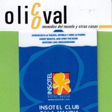 Postales: TARJETA HOTEL ESPAÑA BALEARES IBIZA MALLORCA FORMENTERA MENORCA ISOTEL CALA MANDIA TH1608. Lote 190468431