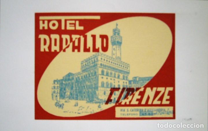 Postales: COLECCIÓN DE 9 POSTALES CON ANTIGUAS ETIQUETAS DE HOTELES DE EUROPA - Foto 2 - 190591368