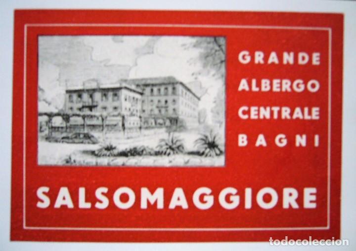 Postales: COLECCIÓN DE 9 POSTALES CON ANTIGUAS ETIQUETAS DE HOTELES DE EUROPA - Foto 4 - 190591368