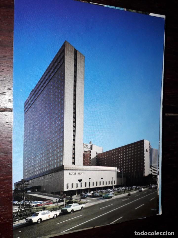 Nº 34604 POSTAL JAPON HOTEL IN AFTERNOON SUNSHINE (Postales - Postales Temáticas - Hoteles y Balnearios)