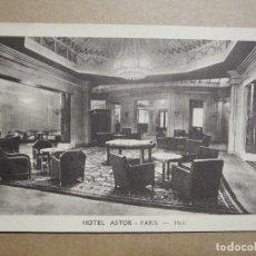Postales: HOTEL ASTOR. PARIS. HALL. NUEVA. Lote 191810857