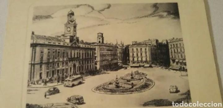 Postales: Hotel París Madrid felicitación Navidad y Año Nuevo 1955 - Foto 2 - 192153570