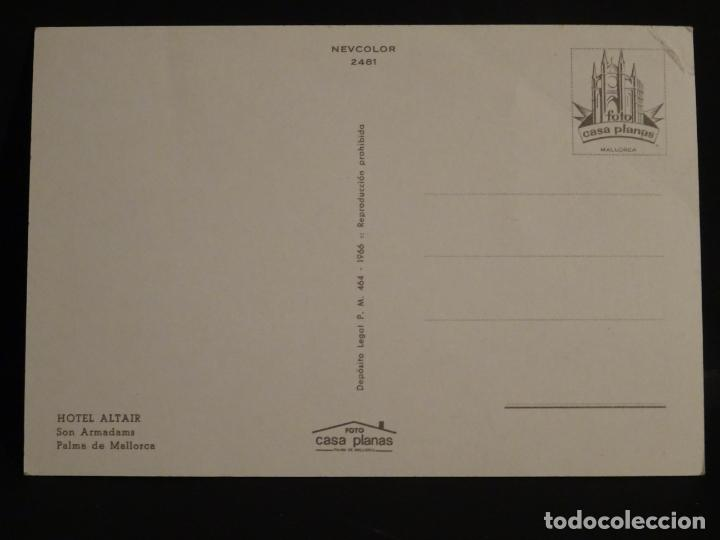 Postales: Hotel Altair, Son Armadams, Palma de Mallorca, postal sin circular - Foto 2 - 193960171