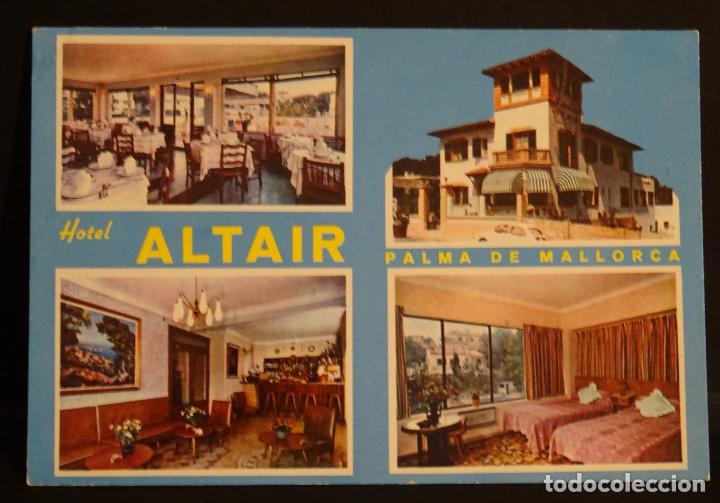 HOTEL ALTAIR, SON ARMADAMS, PALMA DE MALLORCA, POSTAL SIN CIRCULAR (Postales - Postales Temáticas - Hoteles y Balnearios)