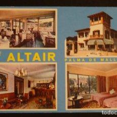 Postales: HOTEL ALTAIR, SON ARMADAMS, PALMA DE MALLORCA, POSTAL SIN CIRCULAR. Lote 193960171