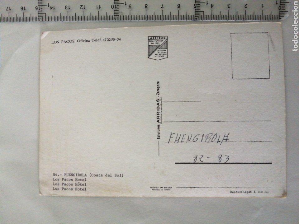 Postales: FUENGIROLA, MÁLAGA HOTEL LOS PALCOS COSTA DEL SOL. ARRIBAS 84 - Foto 3 - 194398187