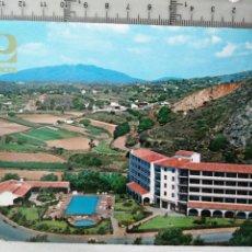 Postales: FUENGIROLA, MÁLAGA HOTEL LOS PALCOS COSTA DEL SOL. ARRIBAS 84. Lote 194398187
