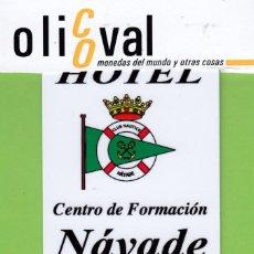 Postales: TARJETA HOTEL ESPAÑA SEGOVIA LOS ANGELES DE SAN RAFAEL HOTEL NAYADE TH2259. Lote 194555263