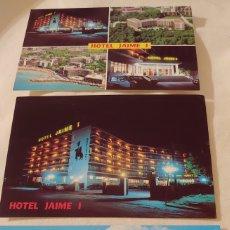 Postales: 4 POSTALES HOTEL JAIME I. SALOU TARRAGONA. Lote 194644701