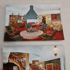 Postales: BURGOS HOTEL MONTERMOSO ARANDA DUERO. Lote 194704233