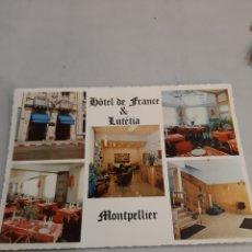 Postales: HITEL MINTPELLIER LUTETIA HERAULT FRANCIA. Lote 194704551