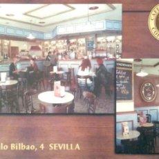 Postales: SEVILLA. CAFÉ DE INDIAS. NUEVA. COLOR. Lote 194985698