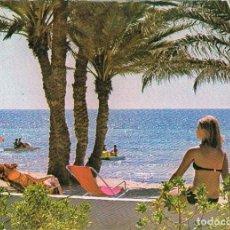 Postales: HOTEL SIDI JERBA (TUNEZ), LA PLAYA. Lote 195641892