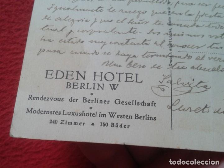Postales: POSTAL ALEMANIA EDEN HOTEL AMERICAIN BAR UN GRILL BERLIN W MODERNSTES LUXUSHOTEL IM WESTERN BERLINS - Foto 3 - 197406863