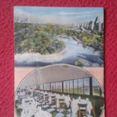 Postales: POSTAL POST CARD NUEVA NEW YORK USA ESTADOS UNIDOS THE PENTHOUSE 30 CENTRAL PARK SOUTH OVERLOOKING... Lote 197430037