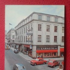 Postales: POSTAL POSTCARD HOTEL RANDERS DINAMARCA DENMARK DANMARK GARAGER COCHES DE ÉPOCA CITROËN 2 CV CABALLO. Lote 197651187
