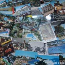 Postales: 90 POSTALES * HOTELES,PARADORES, CAMPINGS, Y SIMILARES* ( LOTE Nº 346). Lote 198391422