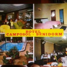 Postales: POSTAL HOTEL CAMPOSOL BENIDORM RUECK S/C. Lote 198469011