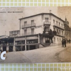 Postales: FUENTERRABIA HONDARRIBIA GUIPÚZCOA HOTEL MOURISCOT. Lote 198593115